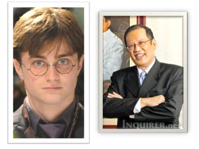 Harry Potter is Noynoy