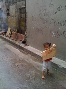 Street kid in Ermita
